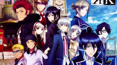 K (K-Project) (Complete Batch) (Episodes 1- 13) (720p – miniHD – 90MB – Encoded)
