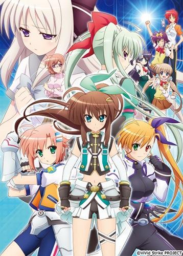 Download ViVid Strike! (main) Anime